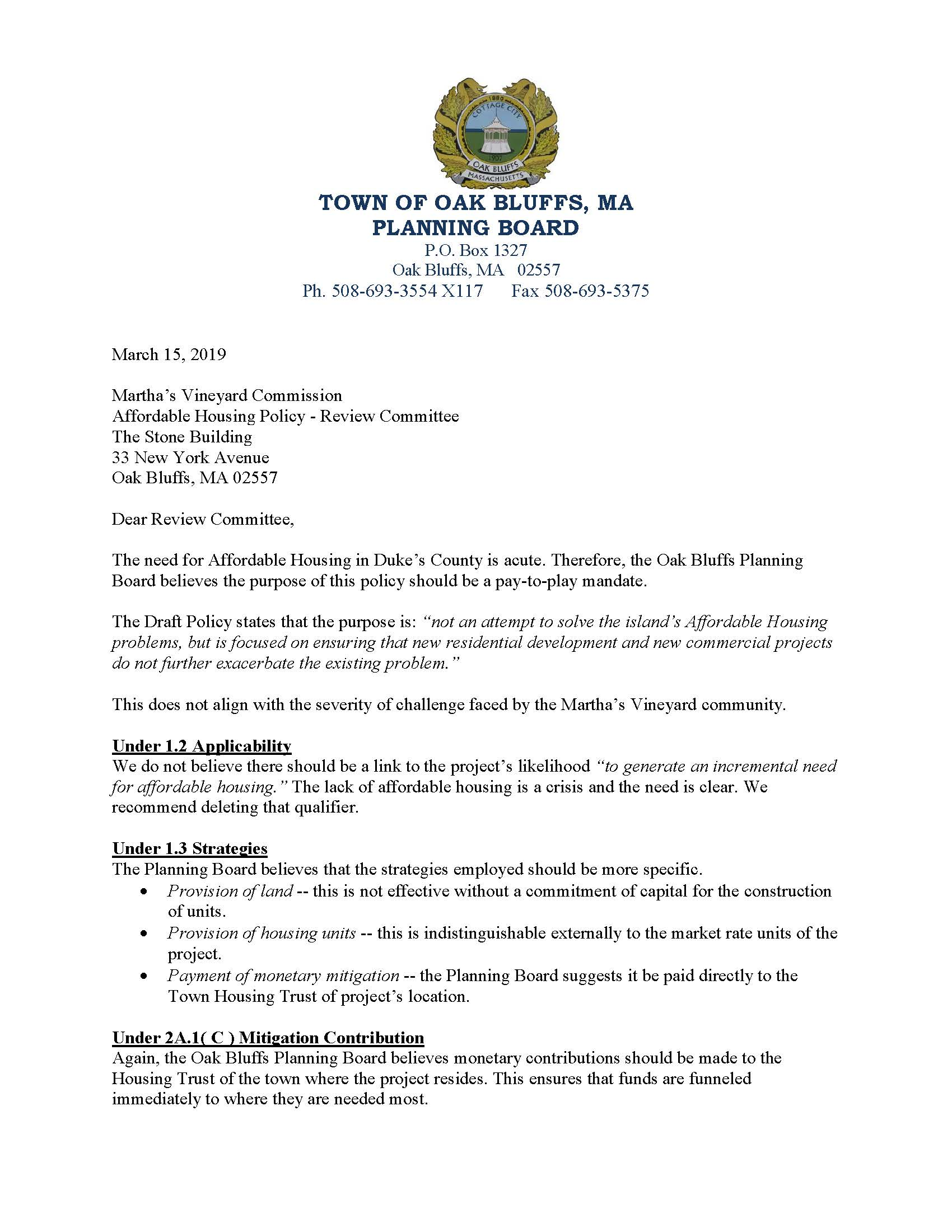 PB Letter to MVC re Housing Mitigation Policy Mar 15 2019_Page_1 Opens in new window